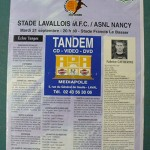 Programme Laval - Nancy - L.2 J°09 - saison 2004/2005 [Collection privée Red Thistle]