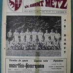Programme Metz - Nancy - D.1 J°09 - saison 1973 1974 [Collection privée Red Thistle]