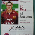Programme Metz - Nancy L.1 J°10 - saison 1999/2000 [Collection privée Red Thistle]