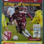 Programme Metz - Nancy L.1 J°25 - saison 2005/2006 [Collection privée Red Thistle]