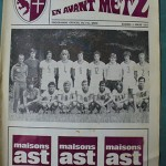 Programme Metz - Nancy D.1 J°27 - saison 1976/1977 [Collection privée Red Thistle]