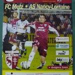 Programme Metz - Nancy L.1 J°32 - saison 2002/2003 [Collection privée Red Thistle]