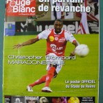 Programme Reims - Nancy - L.1 J°06 - saison 2012/2013 [Collection privée Red Thistle]