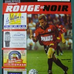Programme Rennes - Nancy - L.1 J°25 - saison 1999/2000 [Collection privée Red Thistle]