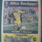 Programme Sochaux - Nancy L.1 J°11 - saison 2005/2006 [Collection privée Red Thistle]