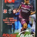 Programme Valenciennes - Nancy - J°34 - saison 2012 2013