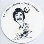 Saison 1975-1976 Sous verre C. Curbelo