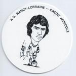 Saison 1975-1976 Sous verre F.Chebel