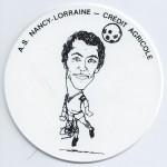 Saison 1975-1976 Sous verre J-C Cloet