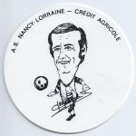 Saison 1975-1976 Sous verre M. Lerebours
