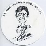 Saison 1975-1976 Sous verre M. Platini