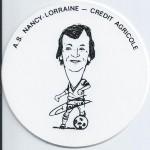 Saison 1975-1976  Sous verre S.Jannaud