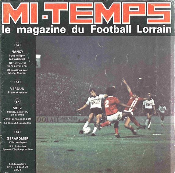 Saison 1979/1980 Journal Mi-Temps n°1