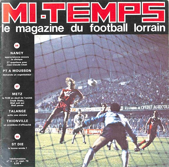 Saison 1979/1980 Journal Mi-Temps n°4