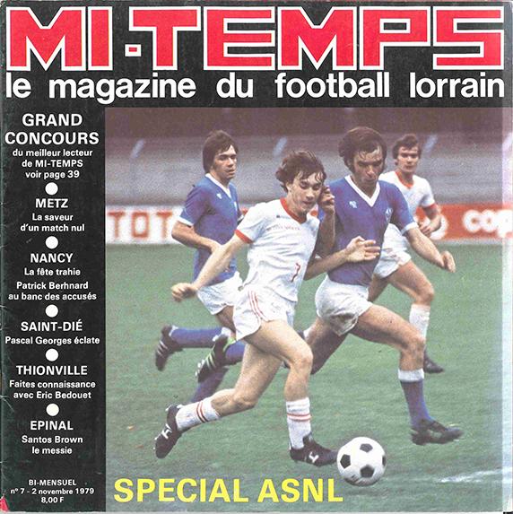 Saison 1979/1980 Journal Mi-Temps n°7