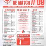 Saison 2013-2014 Journée 09 Feuille de match n°09