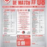Saison 2013-2014 Journée 08 Feuille de match n°08