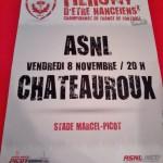 Affiche Nancy-Chateauroux - Saison 2013-2014 - L2 (14e j., 08/11/2013) [Collection privée samgi]Affiche Nancy-Chateauroux - Saison