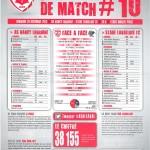 Saison 2013-2014 Journée 10 Feuille de match n°10