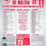 Saison 2013-2014 Journée 11 Feuille de match n°11