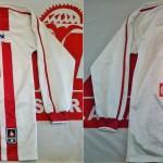 Maillot Coupe de la Ligue porté (M. Zerka) saison 2001 2002