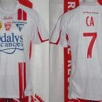 Maillot championnat domicile porté (Bocundji Ca) - Nancy Monaco saison 2009 2010 [collection privée Xavinos]