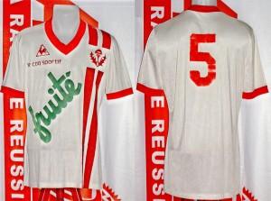 Maillot championnat domicile porté (Carlos Curbelo) - saison 1978 1979 [collection privée Xavinos]