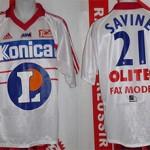 Maillot championnat domicile porté (Jessy Savine) - saison 1998 1999 [collection privée Xavinos]