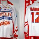 Maillot championnat domicile porté (Olivier Rambo)  - saison 2003 2004 [collection privée Xavinos]