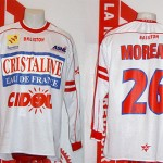 Maillot championnat domicile porté (Patrick Moreau) - saison 2002 2003 [collection privée Xavinos]