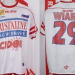 Maillot championnat domicile porté (Samuel Wiart) - saison 2002 2003 [collection privée Xavinos]