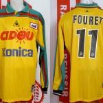 Maillot championnat extérieur porté (Frédéric Fouret) - saison 2000 2001 [collection privée Xavinos]