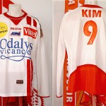 Maillot championnat extérieur porté (Kim) - Lille Nancy saison 2005 2006 [collection privée Xavinos]