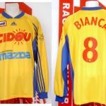 Maillot championnat extérieur porté refusé par l'arbitre (Frédéric Biancalani) - saison 1999 2000 [collection privée Xavinos]