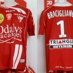Maillot championnat  porté (Gennaro Bracigliano) - Nancy Le Havre saison 2008 2009 [collection privée Xavinos]