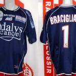 Maillot championnat porté (Gennaro Bracigliano) - saison 2004 2005 [collection privée Xavinos]