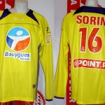 Maillot coupe de la Ligue porté (Olivie Sorin) - saison 2007 2008 [collection privée Xavinos]