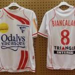 Maillot domicile porté par Biancalani saison 2008 2009