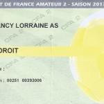 Billet CFA 2 saison 2013 2014