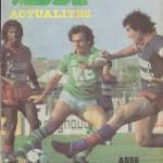 Programme ASSE-Nancy - saison 1981-1982 13 eme journee
