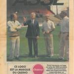 Programme ASSE-Nancy - saison 1986-1987 02eme journée