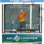 Programme Auxerre Nancy saison 2005 2006 19eme journée