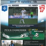 Programme Auxerre Nancy saison 2010 2011 07eme journée