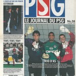 Programme Paris Nancy saison 1996 1997 31eme journée