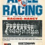Programme RCS Strasbourg-Nancy - saison 1977-1978 07eme journée