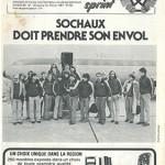 Programme Sochaux Nancy saison 1980 1981 journée 25