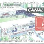 Billet Nancy-Caen - Saison 2000-2001 - D2 (25e j, 14 01 2001)