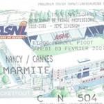 Billet Nancy-Cannes - Saison 2000-2001 - D2 (27e j, 03 02 2001)