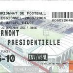 Billet Nancy-Clermont - Saison 2003-2004 – L2 (09e j, 20 09 2003)