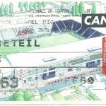Billet Nancy-Créteil - Saison 2000-2001 - D2 (21e j, 29 11 2000)